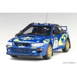 Subaru Impreza WRC 3 Safari Rallye 1997 McRae Grist Autoart 89792