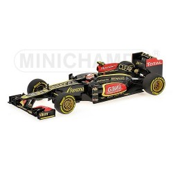 Lotus Renault F1 Team Showcar F1 2013 Romain Grosjean Minichamps 410130078