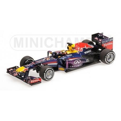 Red Bull Renault RB9 F1 Allemagne 2013 Sebastian Vettel Minichamps 410130101
