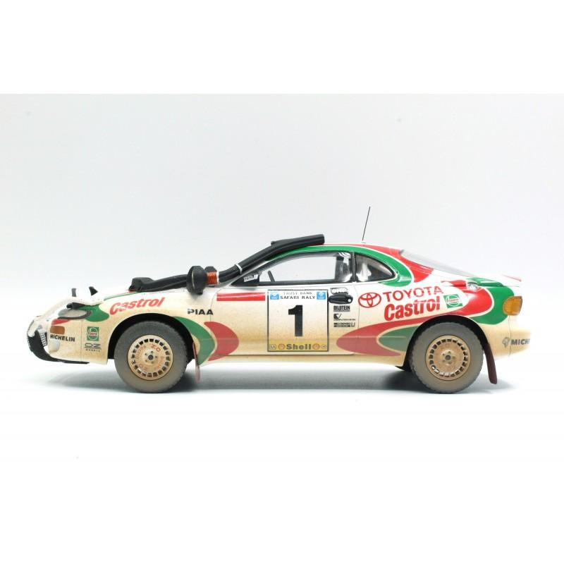 Toyota Celica GT4 1 Winner Safari Rallye 1993 Kankkunen ...