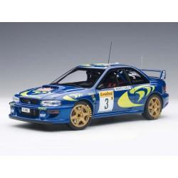 Subaru Impreza WRC 3 Rallye Monte Carlo 1997 McRae Grist Autoart 89790