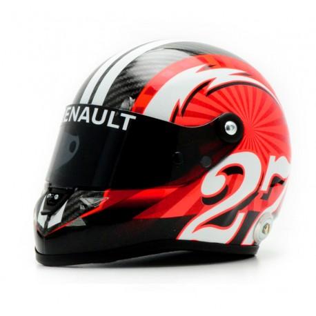 Casque 1/2 Nico Hulkenberg F1 2017 Schuberth 9087000223