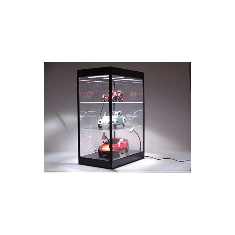 Vitrine Showcase Plexiglass Avec Leds 1 43 1 18 Triple9 T9 69927