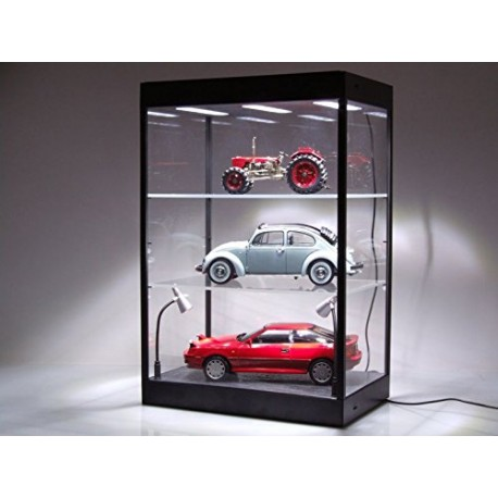 Vitrine Showcase Plexiglass avec Leds 1/43 1/18 Triple9 T9-69927