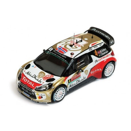Citroen DS3 4 WRC Monte Carlo 2014 Ostberg Andersson IXO RAM566