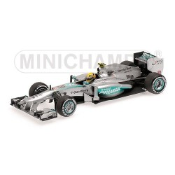 Mercedes W04 F1 Malaisie 2013 Lewis Hamilton Minichamps 410130110