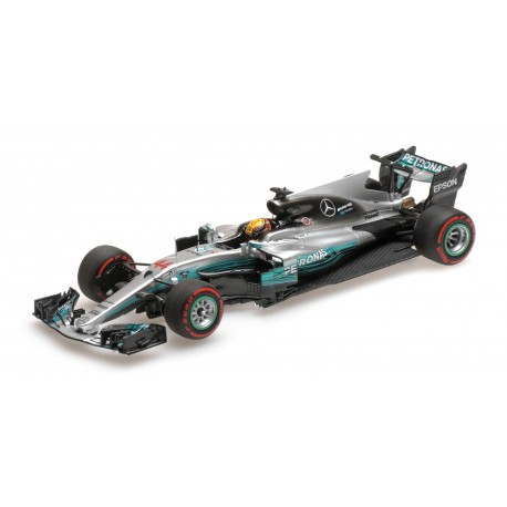 Mercedes AMG Petronas W08 EQ Power+ Grand Prix de Russie 2017 Lewis Hamilton Minichamps 417170444