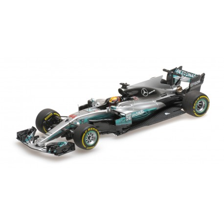 mercedes amg petronas w08 eq power grand prix de chine 2017 lewis hamilton minichamps 417170244. Black Bedroom Furniture Sets. Home Design Ideas