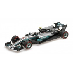 Mercedes AMG Petronas W08 EQ Power+ Grand Prix de Russie 2017 Valtteri Bottas Minichamps 417170477