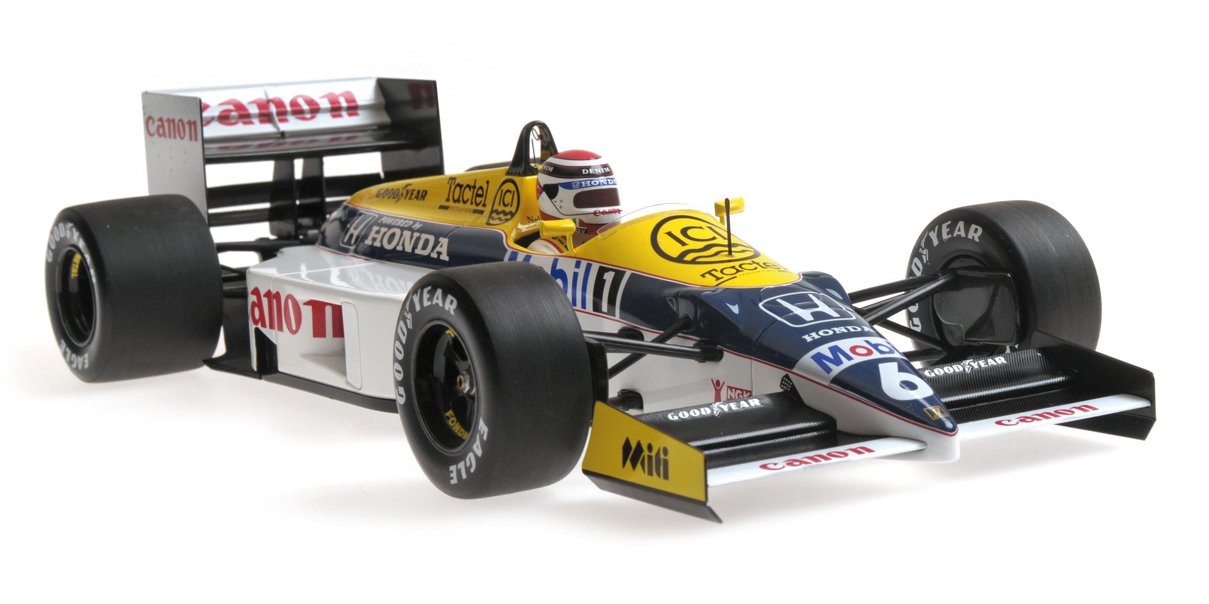 Williams Honda FW11  N.Piquet  1986  Minichamps 1:18  OVP  NEU