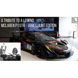 McLaren P1 GTR James hunt 40th Anniversary Almost Real ALM440108