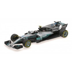 Mercedes AMG Petronas W08 EQ Power+ F1 Espagne 2017 Valtteri Bottas Minichamps 410170077
