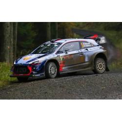 Hyundai i20 WRC RAC Rally 2017 Avec Decals Neuville Mikkelsen IXO RAM645C
