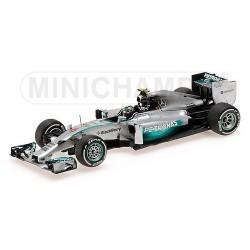 Mercedes F1 W05 F1 2014 Nico Rosberg Minichamps 410140006