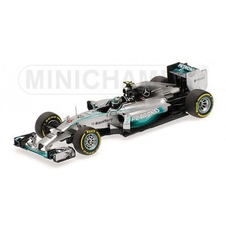 Mercedes F1 W05 F1 Abu Dhabi 2014 Nico Rosberg Minichamps 410140406
