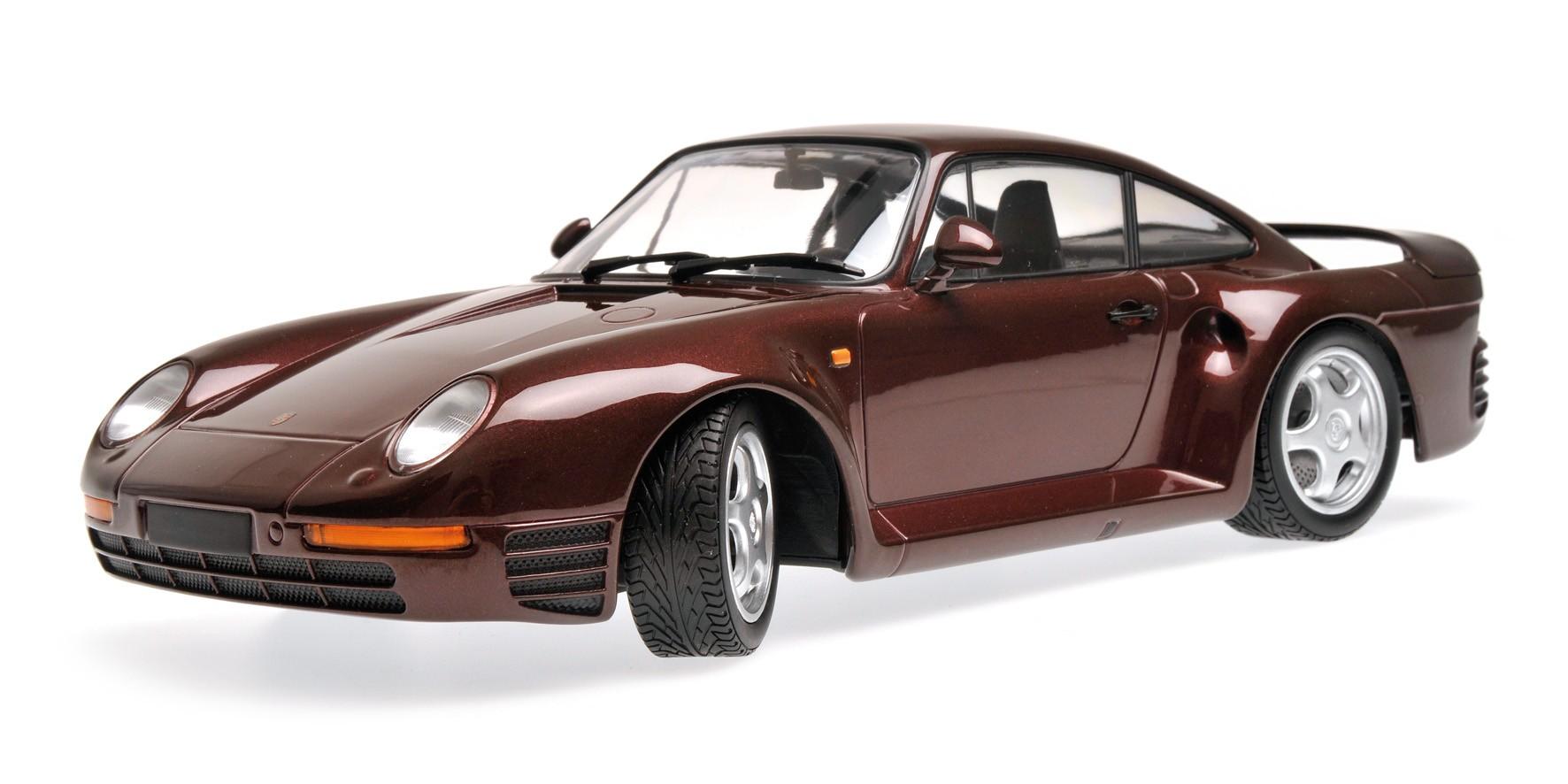PROMO Porsche 959 de 1987  au 1//18 de Minichamps 155066204