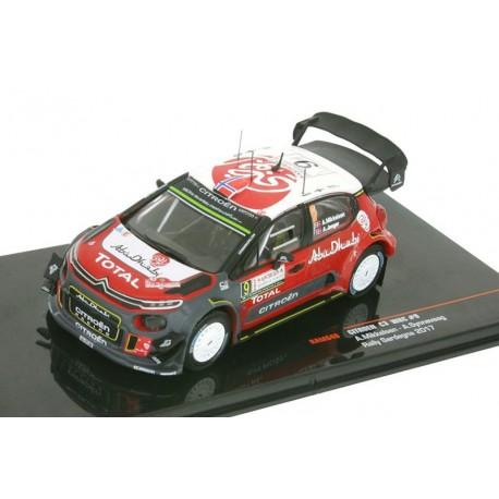 Citroen DS3 WRC 14 Rallye Monte Carlo 2017 Breen Martin IXO RAM640