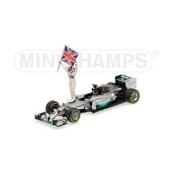 Mercedes F1 W05 F1 Abu Dhabi 2014 Lewis Hamilton Minichamps 410140644
