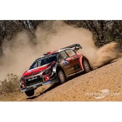Citroen C3 WRC 11 Rallye du Mexique 2018 Loeb Elena Spark LOEME18