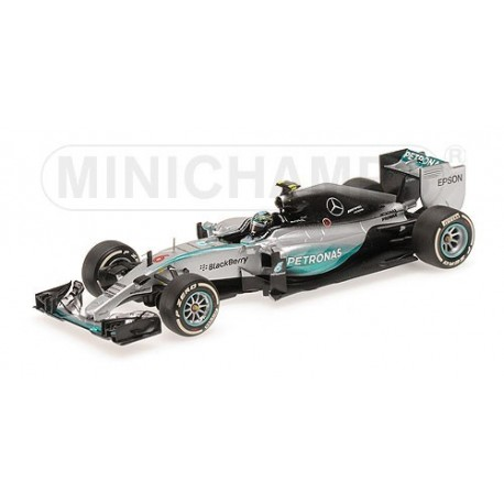 Mercedes W06 Hybrid F1 2015 Nico Rosberg Minichamps 410150006