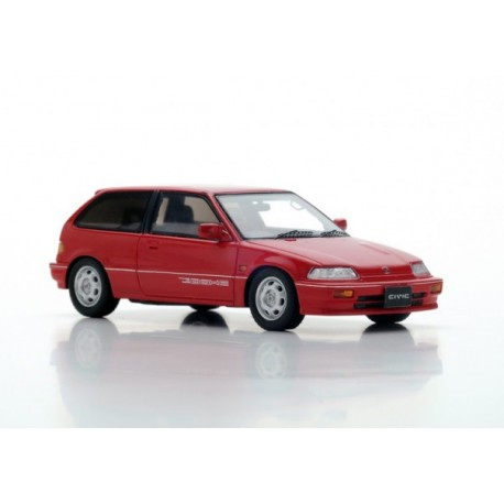 Honda Civic EF-3 Si 1987 Rouge Spark S5451