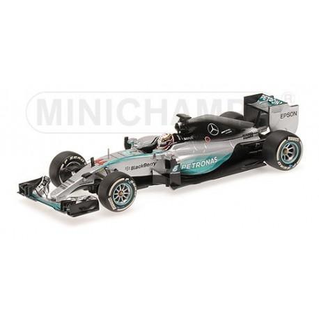 Mercedes W06 Hybrid F1 2015 Lewis Hamilton Minichamps 410150044