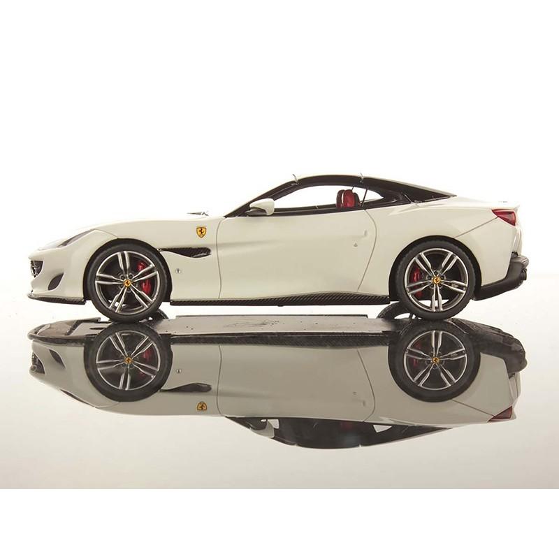 Ferrari Portofino Bianco Avus With Nero DS Roof Looksmart