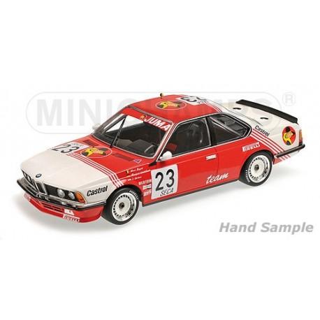 BMW 635 CSI 23 24 Heures de Spa Francorchamps 1985 Minichamps 155852523
