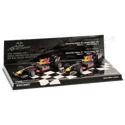 Red Bull Renault RB6 Team Champion F1 2010 Minichamps 412100506
