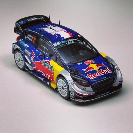 ford fiesta wrc 1 rallye monte carlo 2017 ogier ingrassia ixo ram641 miniatures minichamps. Black Bedroom Furniture Sets. Home Design Ideas