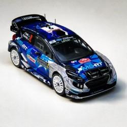 Ford Fiesta WRC 2 Rallye Monte Carlo 2017 Tanak Jarveola IXO RAM642