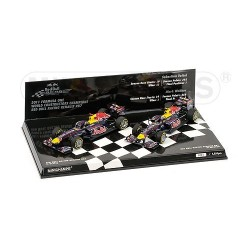 Red Bull Renault RB7 Team Champion F1 2011 Minichamps 412110102