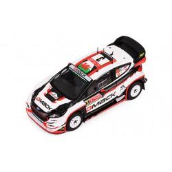 Ford Fiesta WRC 3 Rallye Monte Carlo 2017 Evans Barritt IXO RAM643