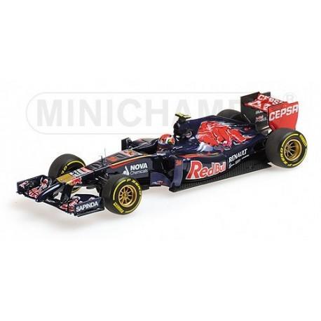 Toro Rosso STR9 F1 2014 Daniil Kvyat Minichamps 417140026