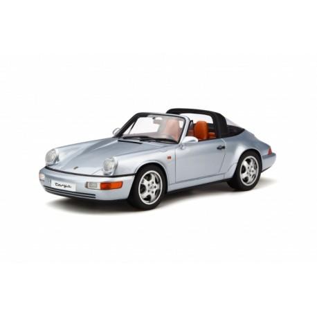 Porsche 911 Targa Polar Silver GT Spirit GT185