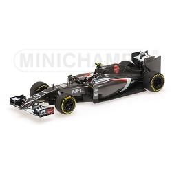 Sauber Ferrari C33 F1 2014 Adrian Sutil Minichamps 417140099