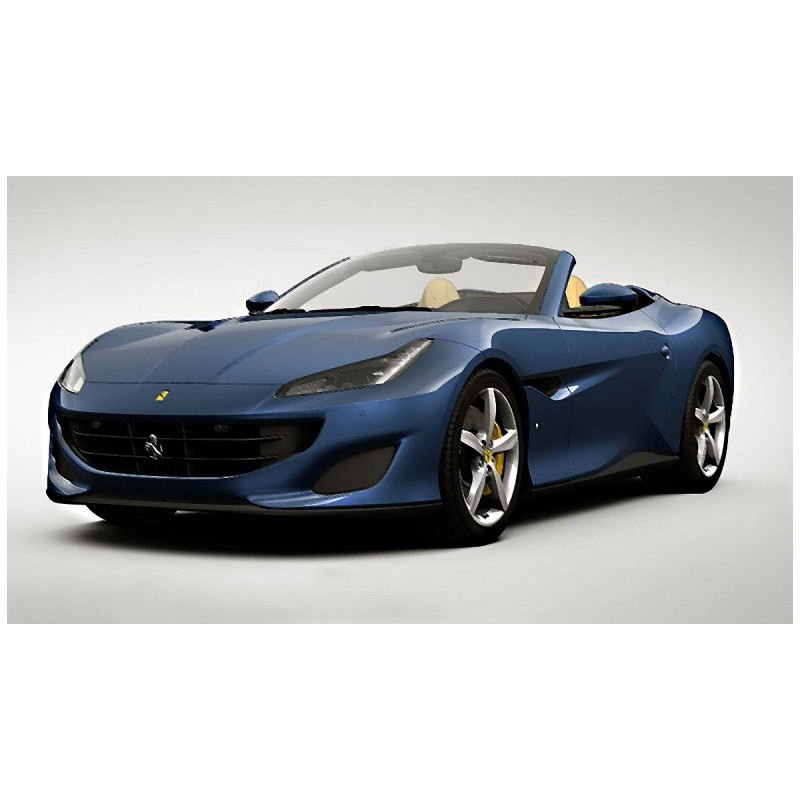Ferrari Porto: Ferrari Portofino With Open Roof Blu Tour De France