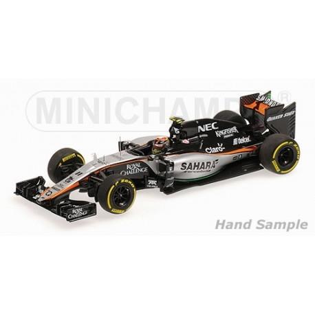 Force India Mercedes VJM08 F1 2015 Sergio Perez Minichamps 417150011