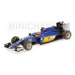 Sauber Ferrari C34 F1 2015 Felipe Nasr Minichamps 417150012