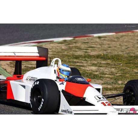 McLaren Honda MP4/4 12 F1 Catalunya 2015 Fernando Alonso Minichamps 530881814