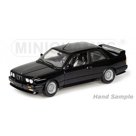 Bmw M3 1987 Plain Body Version Black Minichamps 125872099