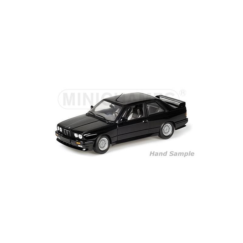 Bmwplain: BMW M3 1987 Plain Body Version Black Minichamps 125872099