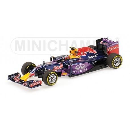 Red Bull Renault RB11 F1 2015 Daniil Kvyat Minichamps 417150026