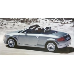 Audi TT Roadster 1988 Silver Minichamps 155017031