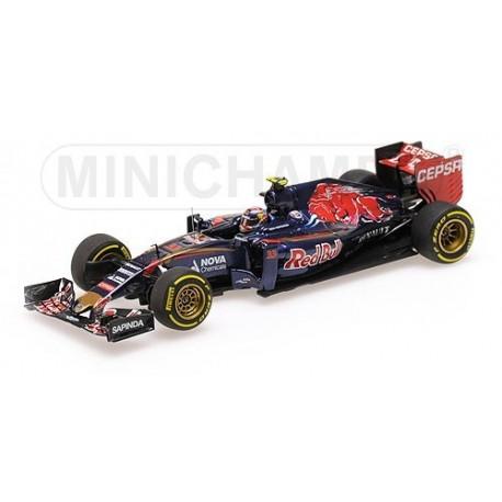 Scuderia Torro Rosso Renault STR10 F1 2015 Max Verstappen Minichamps 417150033