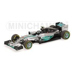 Mercedes W06 Hybrid F1 Monaco 2015 Nico Rosberg Minichamps 417150106