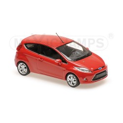 Ford Fiesta 2008 Red Minichamps 940088000