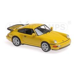 Porsche 911 Turbo 964 1990 Yellow Minichamps 940069104
