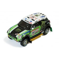 Mini All 4 Racing 302 Rallye Dakar 2012 Peterhansel Cottret IXO RAM572P