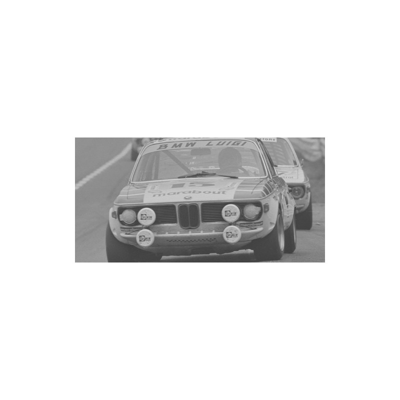 BMW 2800 CS 15 24 Heures De Spa Francorchamps 1970